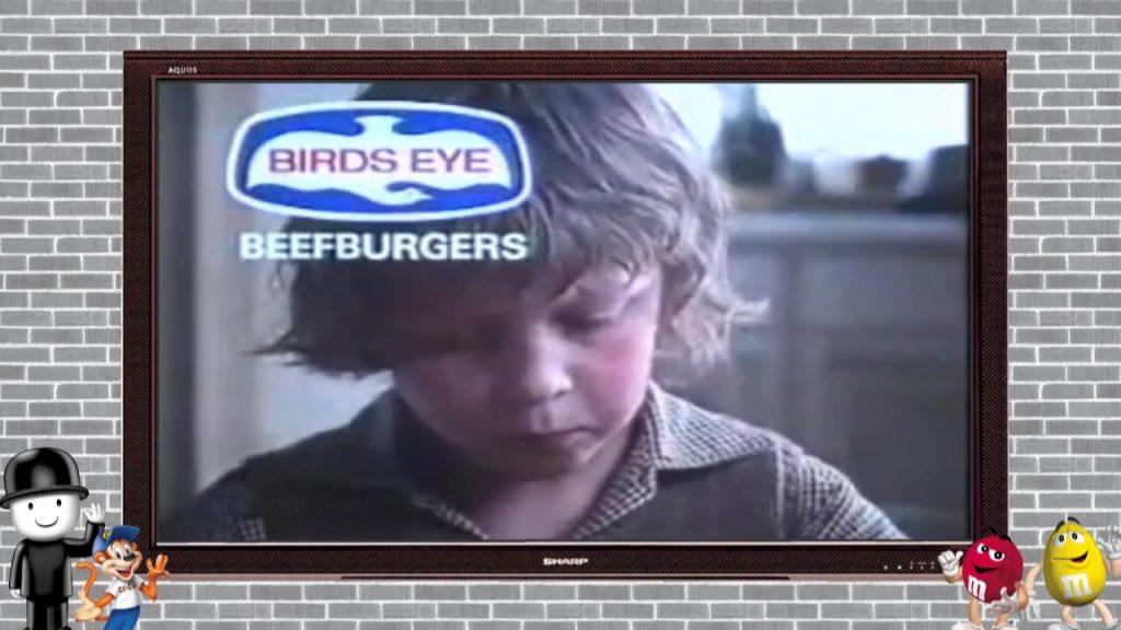 Birdseye Beefburgers – 1976